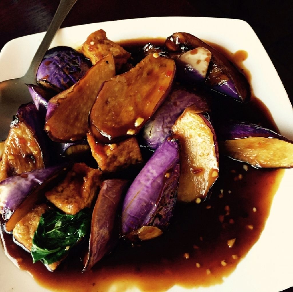 "Photo of Garden Fresh  by <a href=""/members/profile/Theveganwife"">Theveganwife</a> <br/>Eggplant with tofu <br/> October 3, 2015  - <a href='/contact/abuse/image/21138/188822'>Report</a>"