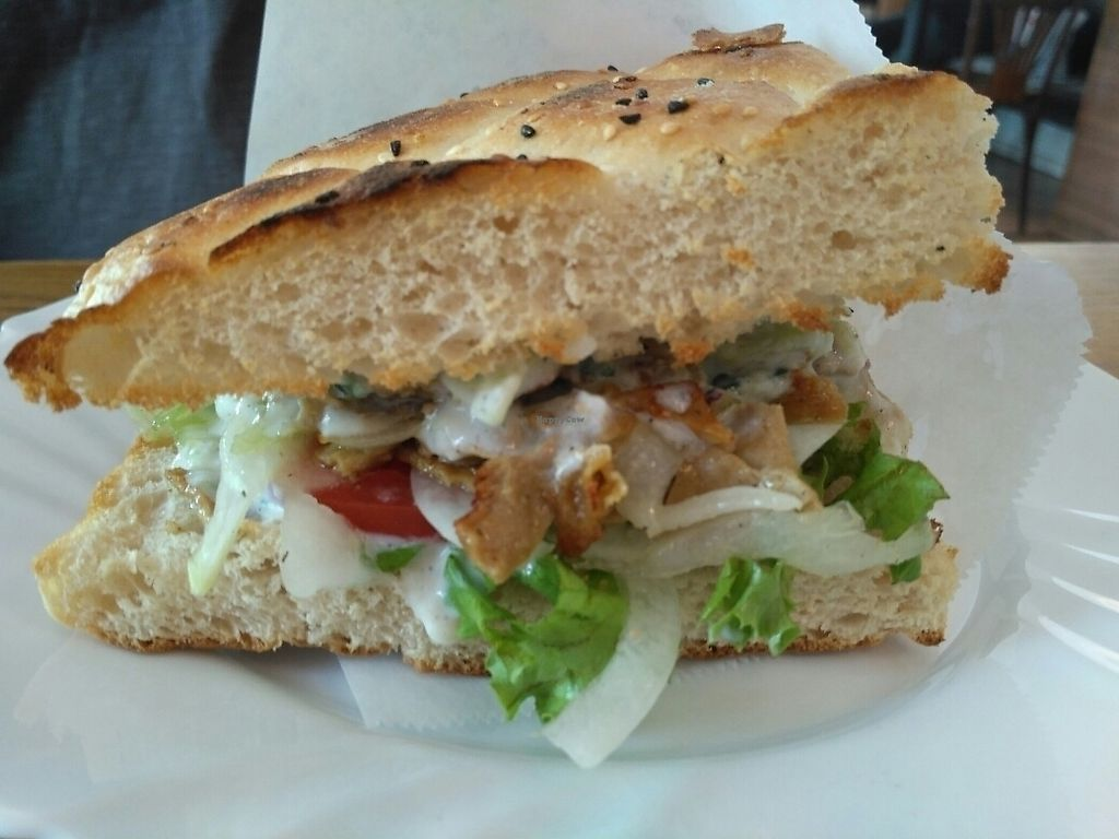 """Photo of CLOSED: vego Foodworld  by <a href=""""/members/profile/Miggi"""">Miggi</a> <br/>Doner sandwich <br/> June 7, 2017  - <a href='/contact/abuse/image/21142/266641'>Report</a>"""