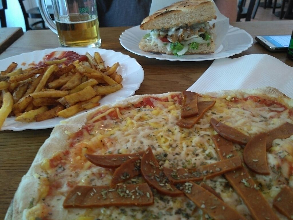 """Photo of CLOSED: vego Foodworld  by <a href=""""/members/profile/Miggi"""">Miggi</a> <br/>pizza, doner, chips <br/> June 7, 2017  - <a href='/contact/abuse/image/21142/266643'>Report</a>"""