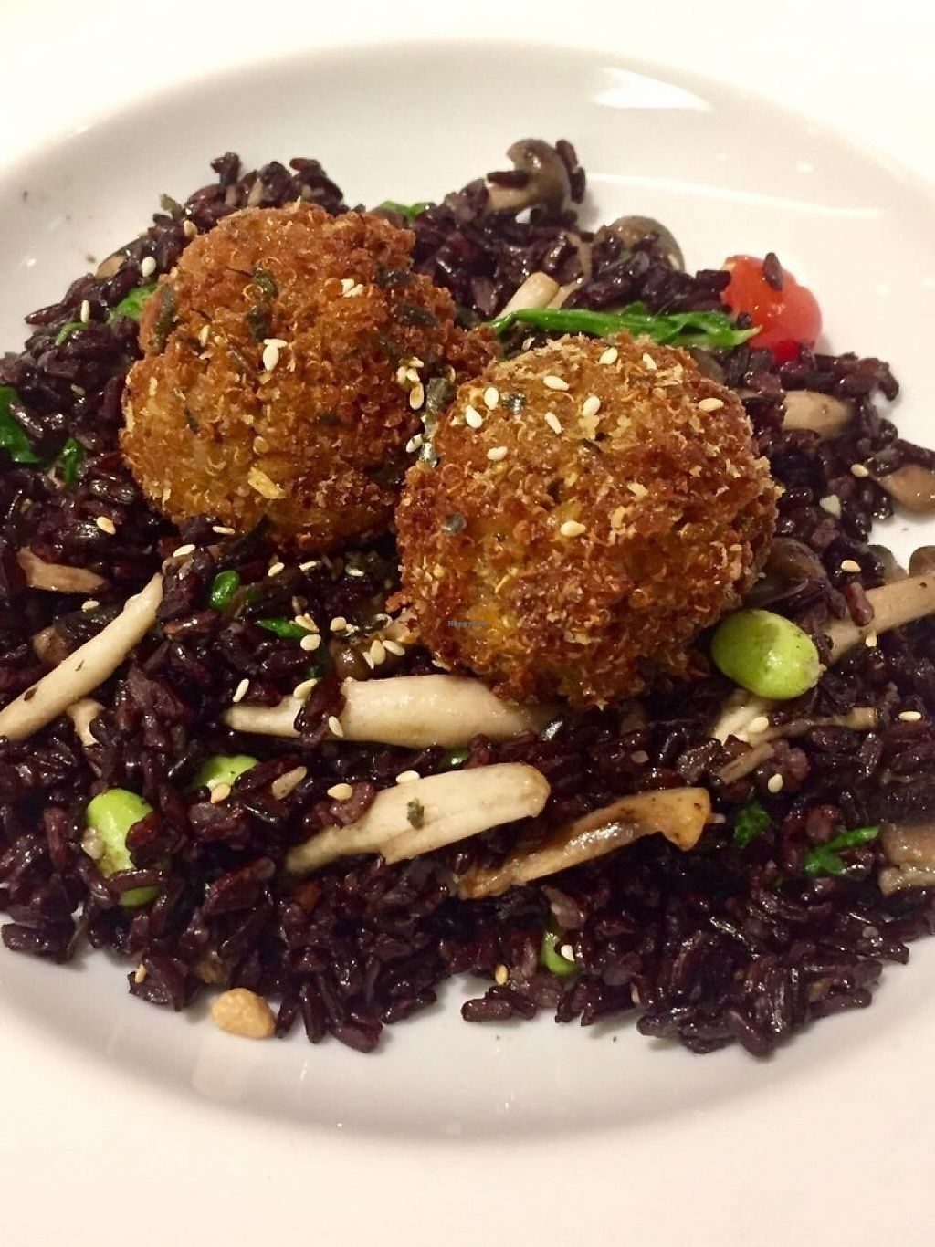 "Photo of Cedele - Raffles City  by <a href=""/members/profile/lindyhan"">lindyhan</a> <br/>Mixed mushroom garlic tossed rice. With the option to change the default egg to cauliflower quinoa chia seed balls. 