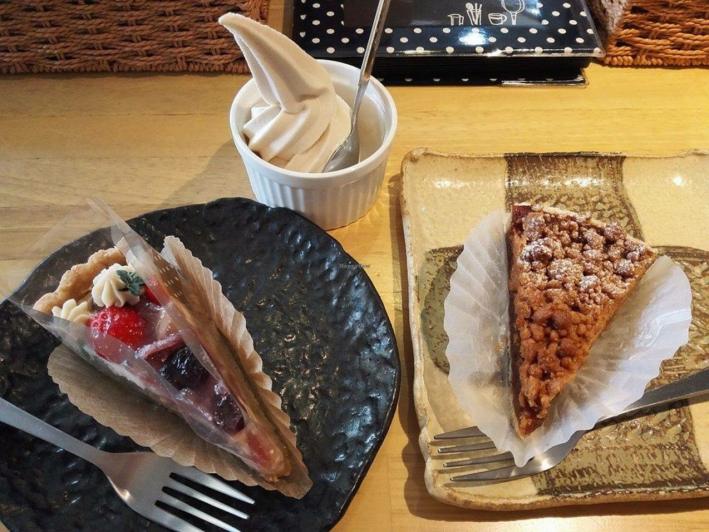 """Photo of Pupu Kitchen and Health Food Shop  by <a href=""""/members/profile/FruitMonstar"""">FruitMonstar</a> <br/>macrobiotic and vegan dessert <br/> January 29, 2016  - <a href='/contact/abuse/image/21162/134154'>Report</a>"""