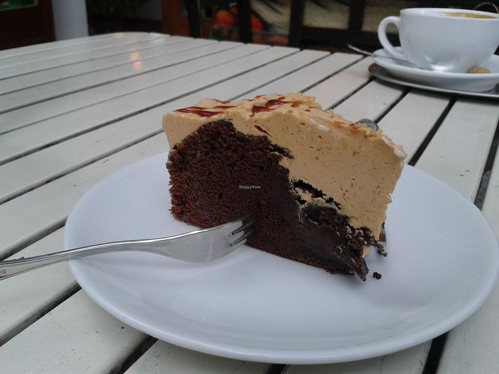 """Photo of CLOSED: Rootz  by <a href=""""/members/profile/jennyc32"""">jennyc32</a> <br/>Peanut butter devil's food cake <br/> April 28, 2015  - <a href='/contact/abuse/image/21176/100546'>Report</a>"""