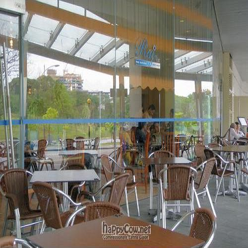 """Photo of Raj Restaurant  by <a href=""""/members/profile/Peace%20..."""">Peace ...</a> <br/>Exterior Seating Area with a Green View  <br/> April 8, 2010  - <a href='/contact/abuse/image/21186/4224'>Report</a>"""