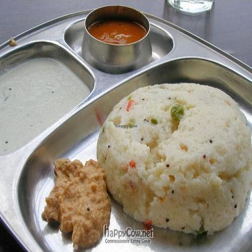 """Photo of Raj Restaurant  by <a href=""""/members/profile/Peace%20..."""">Peace ...</a> <br/> Uppuma @ SGD$2.8+ <br/> April 8, 2010  - <a href='/contact/abuse/image/21186/4225'>Report</a>"""