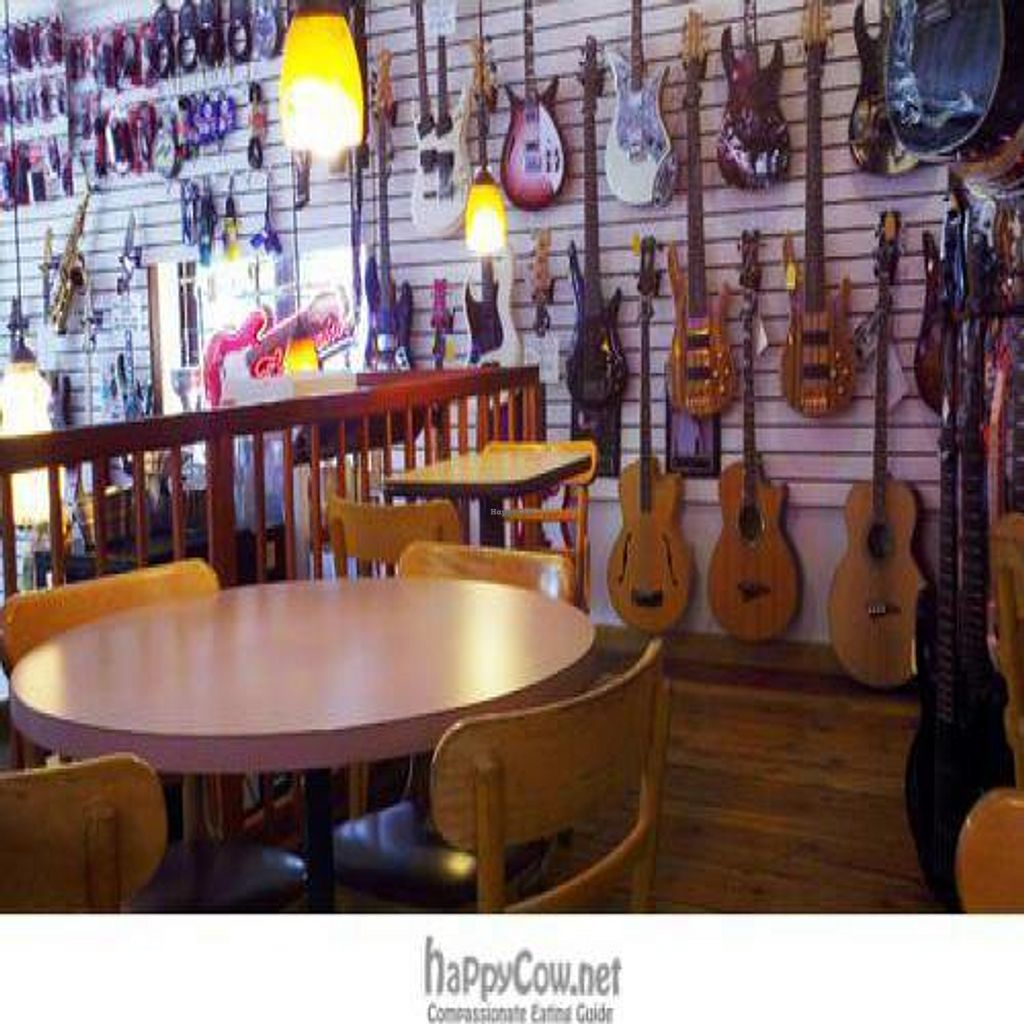 """Photo of REMOVED: Tommy's Guitar Shop And Cafe  by <a href=""""/members/profile/SynthVegan"""">SynthVegan</a> <br/>Tommy's Guitar Shop and Cafe dining area <br/> August 15, 2010  - <a href='/contact/abuse/image/21204/5543'>Report</a>"""