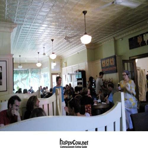 "Photo of CLOSED: Gaia Cafe  by <a href=""/members/profile/happycowgirl"">happycowgirl</a> <br/>dining room <br/> October 9, 2011  - <a href='/contact/abuse/image/2121/11157'>Report</a>"