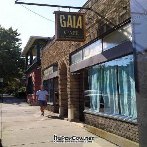 "Photo of CLOSED: Gaia Cafe  by <a href=""/members/profile/happycowgirl"">happycowgirl</a> <br/>storefront <br/> October 9, 2011  - <a href='/contact/abuse/image/2121/11158'>Report</a>"
