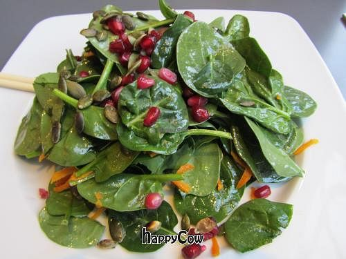 "Photo of CLOSED: Saf - Kensington  by <a href=""/members/profile/CLRtraveller"">CLRtraveller</a> <br/>spinach salad <br/> April 7, 2013  - <a href='/contact/abuse/image/21232/46682'>Report</a>"