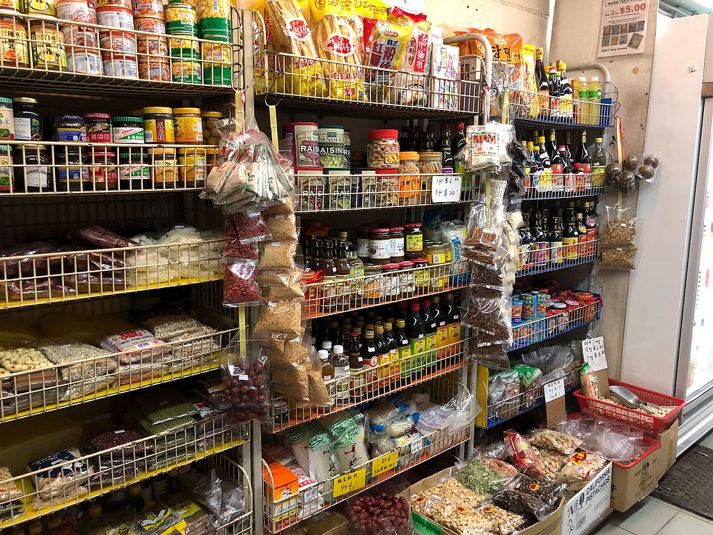 """Photo of Heng Hao Vegetarian and Organic Trading  by <a href=""""/members/profile/CherylQuincy"""">CherylQuincy</a> <br/>Product shelf <br/> February 11, 2018  - <a href='/contact/abuse/image/21237/357712'>Report</a>"""