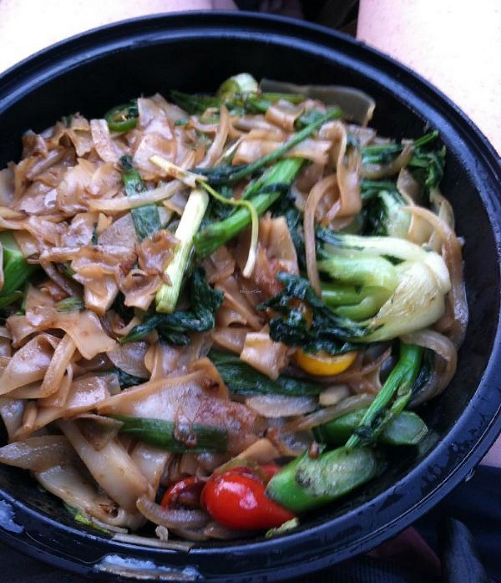 """Photo of Wynn Hotel - Wazuzu  by <a href=""""/members/profile/Meggie%20and%20Ben"""">Meggie and Ben</a> <br/>Drunken noodles to go <br/> December 1, 2014  - <a href='/contact/abuse/image/21258/207729'>Report</a>"""