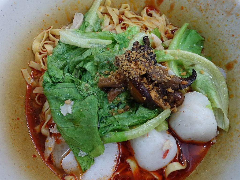 "Photo of Xian Long Vegetarian  by <a href=""/members/profile/JimmySeah"">JimmySeah</a> <br/>mock fish ball noodles <br/> August 13, 2017  - <a href='/contact/abuse/image/21261/292352'>Report</a>"