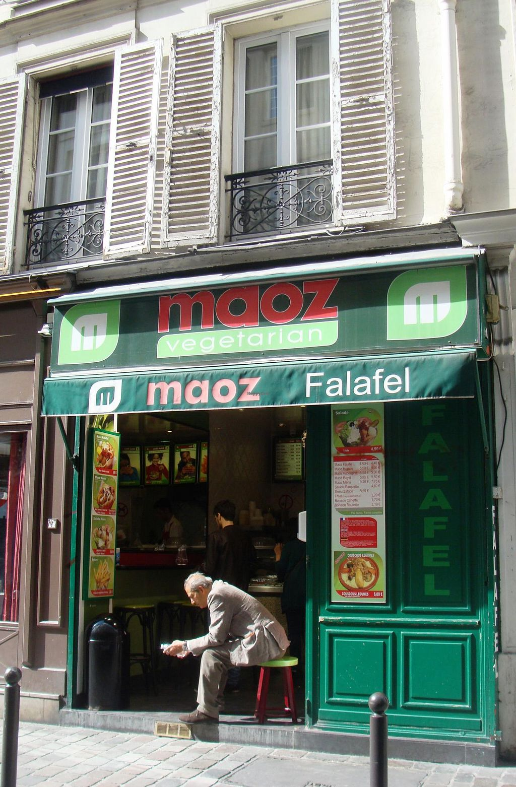 "Photo of Maoz  Vegetarian - Saint Andre des Arts  by <a href=""/members/profile/FlorMayana"">FlorMayana</a> <br/>maoz <br/> June 20, 2015  - <a href='/contact/abuse/image/21293/106625'>Report</a>"