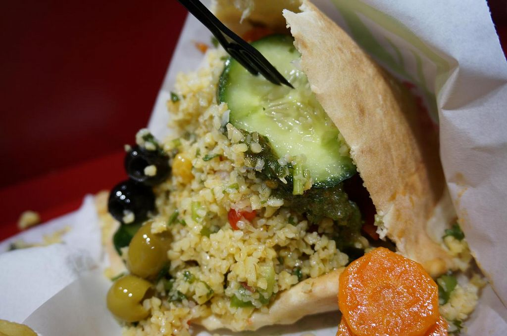 "Photo of Maoz  Vegetarian - Saint Andre des Arts  by <a href=""/members/profile/Ricardo"">Ricardo</a> <br/>Maoz Vegetarian <br/> November 15, 2014  - <a href='/contact/abuse/image/21293/85711'>Report</a>"