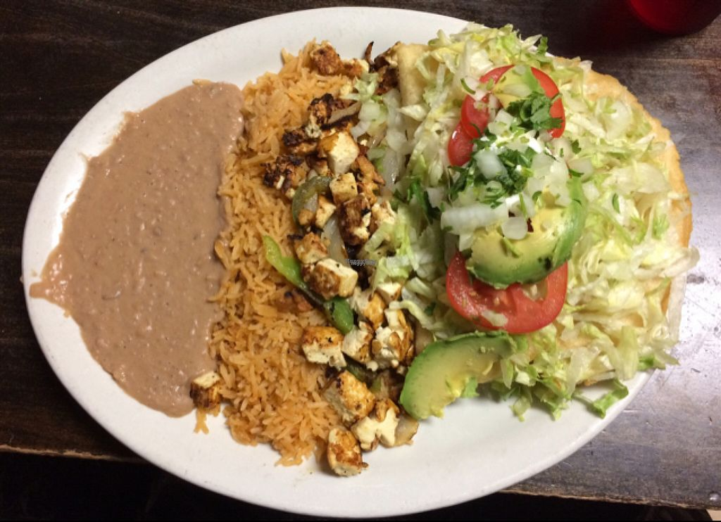 """Photo of Los Gorditos - SE Division & 12th  by <a href=""""/members/profile/lindseymiller"""">lindseymiller</a> <br/>Vegan empanadas rellanas w/ tofu  <br/> November 2, 2016  - <a href='/contact/abuse/image/21300/185982'>Report</a>"""