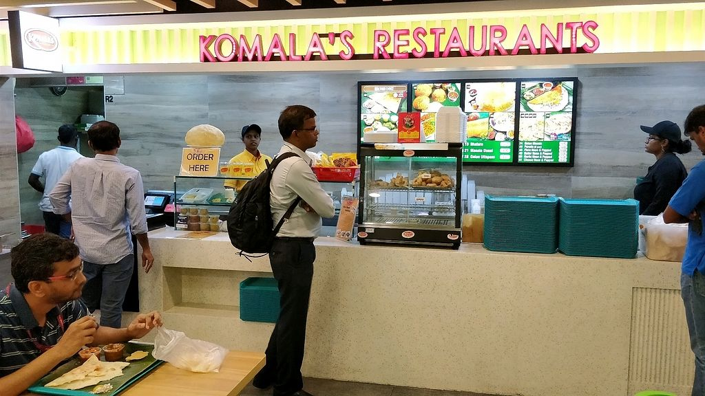 """Photo of Komala's Deli - Yishun North Point  by <a href=""""/members/profile/JimmySeah"""">JimmySeah</a> <br/>stall front <br/> January 24, 2018  - <a href='/contact/abuse/image/21335/350516'>Report</a>"""