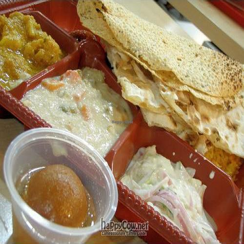 """Photo of Komala's Deli - Yishun North Point  by <a href=""""/members/profile/Peace%20..."""">Peace ...</a> <br/>North Indian Meal @ SGD$7 <br/> May 16, 2010  - <a href='/contact/abuse/image/21335/4524'>Report</a>"""