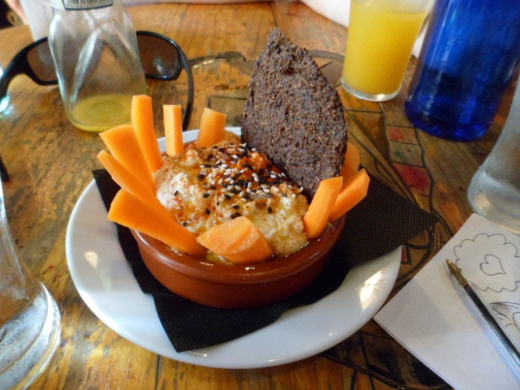 """Photo of CatBar  by <a href=""""/members/profile/cabbagepatchkid"""">cabbagepatchkid</a> <br/>Hummus with carrot sticks <br/> September 24, 2016  - <a href='/contact/abuse/image/21348/177790'>Report</a>"""