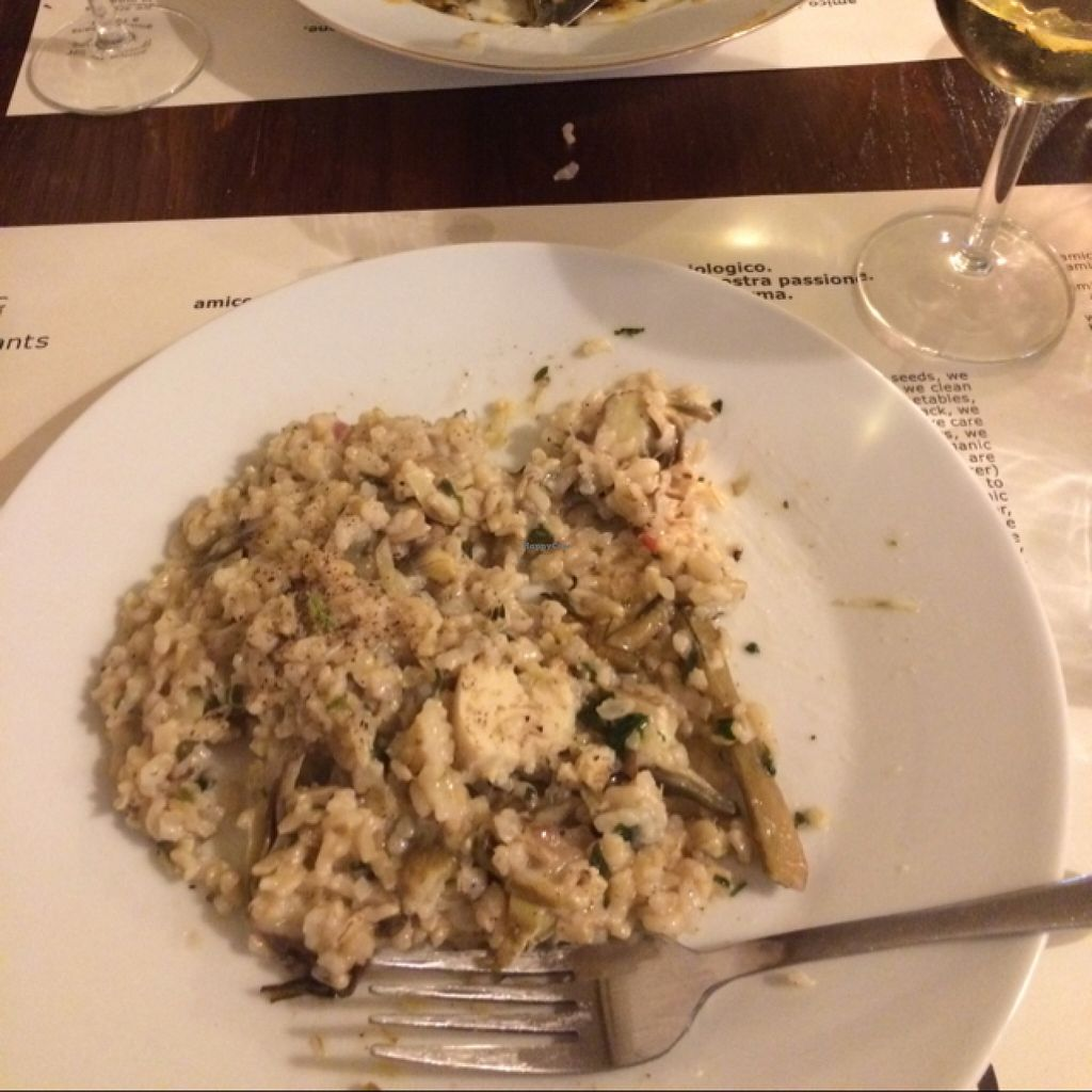 """Photo of CLOSED: Amico Bio  by <a href=""""/members/profile/ChelseyEllis"""">ChelseyEllis</a> <br/>amazing vegan risotto!  <br/> March 23, 2016  - <a href='/contact/abuse/image/21362/141047'>Report</a>"""