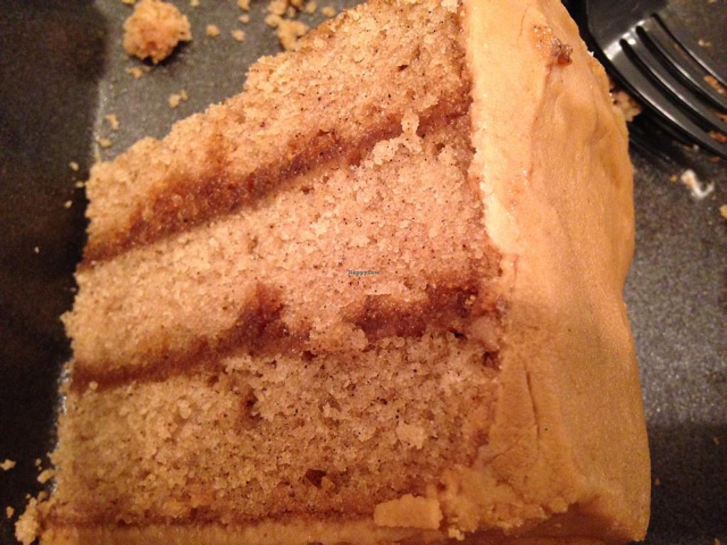 """Photo of Southern Sweets Bakery  by <a href=""""/members/profile/calamaestra"""">calamaestra</a> <br/>vegan caramel cake <br/> July 11, 2015  - <a href='/contact/abuse/image/21388/108926'>Report</a>"""