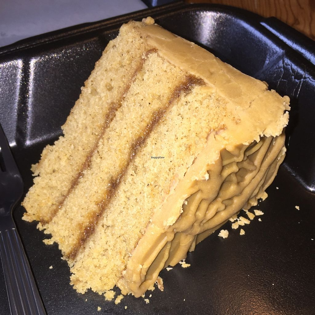 """Photo of Southern Sweets Bakery  by <a href=""""/members/profile/natalie_uzee"""">natalie_uzee</a> <br/>vegan caramel cake  <br/> December 22, 2015  - <a href='/contact/abuse/image/21388/129515'>Report</a>"""