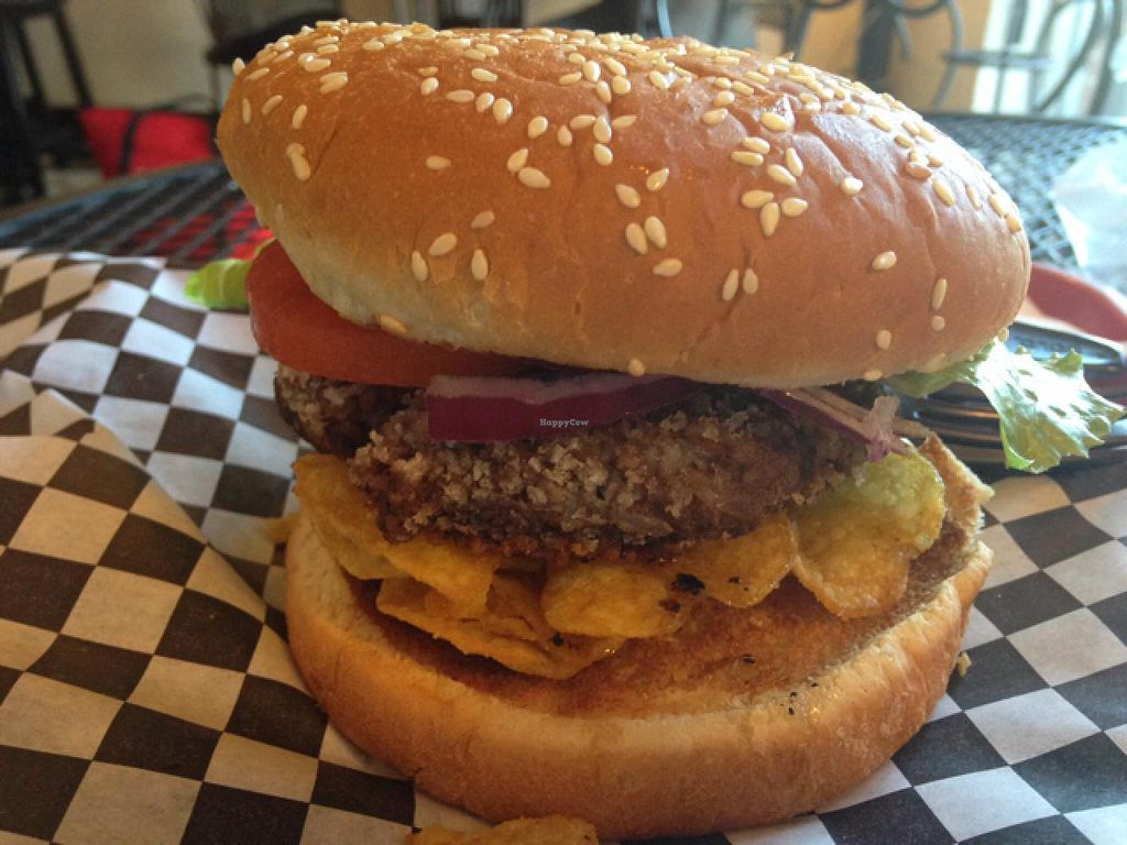 """Photo of Southern Sweets Bakery  by <a href=""""/members/profile/calamaestra"""">calamaestra</a> <br/>black bean burger <br/> January 8, 2014  - <a href='/contact/abuse/image/21388/62084'>Report</a>"""