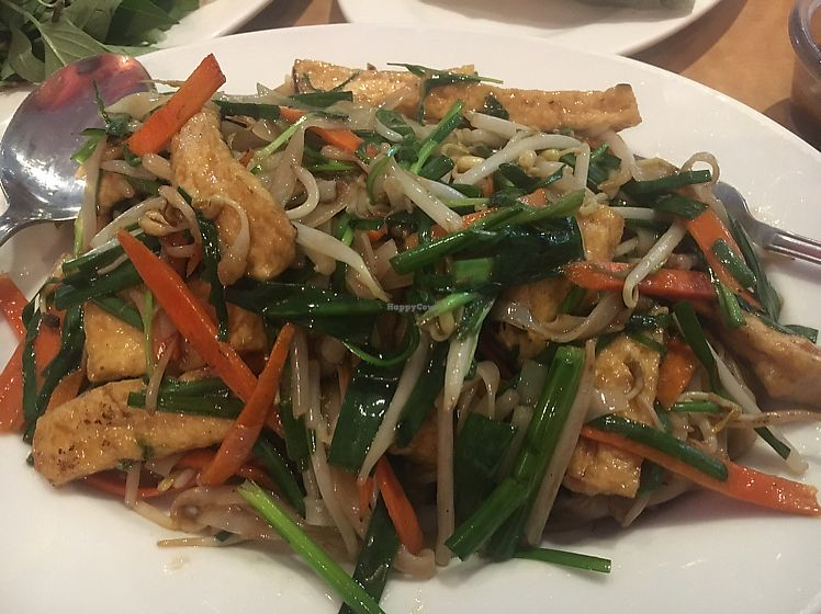 """Photo of Saigon Cafe  by <a href=""""/members/profile/JessicaCarpenter"""">JessicaCarpenter</a> <br/>Rice noodles with tofu <br/> June 17, 2017  - <a href='/contact/abuse/image/21394/269934'>Report</a>"""