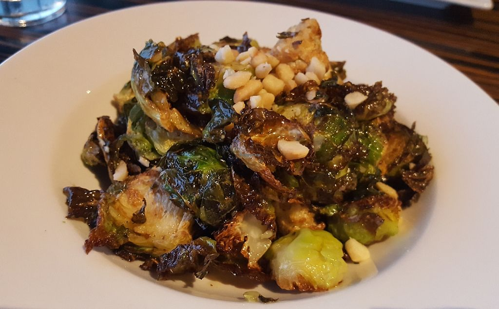 """Photo of Roy's  by <a href=""""/members/profile/kimbarley"""">kimbarley</a> <br/>Roasted Brussel sprouts and cauliflower with macademia <br/> April 8, 2018  - <a href='/contact/abuse/image/21396/382254'>Report</a>"""