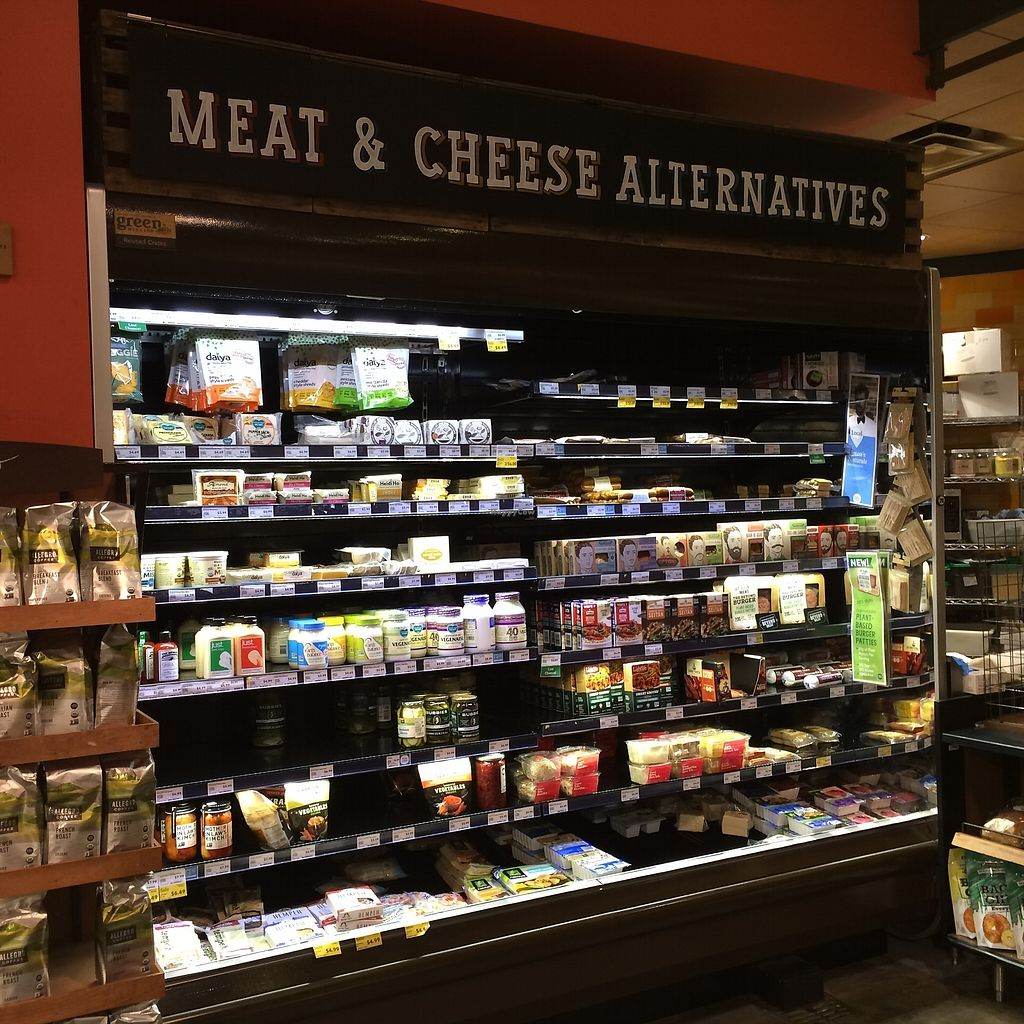 "Photo of Whole Foods Market  by <a href=""/members/profile/KatieBush"">KatieBush</a> <br/>meat and cheese alternatives case <br/> September 18, 2017  - <a href='/contact/abuse/image/2145/305854'>Report</a>"