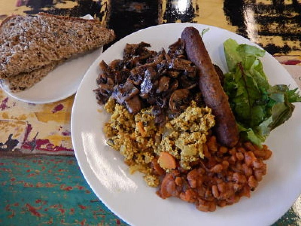 """Photo of Wise Cicada Wholefood Cafe  by <a href=""""/members/profile/CLRtraveller"""">CLRtraveller</a> <br/>Big Hearty Breakfast <br/> January 12, 2015  - <a href='/contact/abuse/image/21463/90246'>Report</a>"""