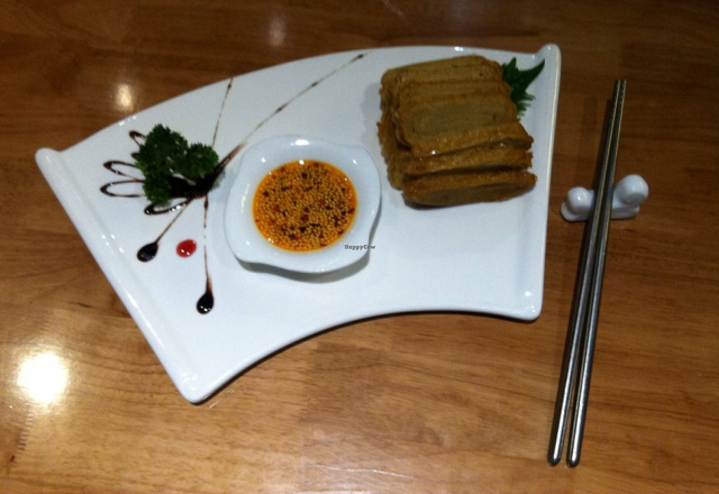 """Photo of Ming Sheng Healthy Vegan Restaurant  by <a href=""""/members/profile/blaim"""">blaim</a> <br/>Shanghai-style 'duck'. so tasty! <br/> November 22, 2015  - <a href='/contact/abuse/image/21509/125777'>Report</a>"""