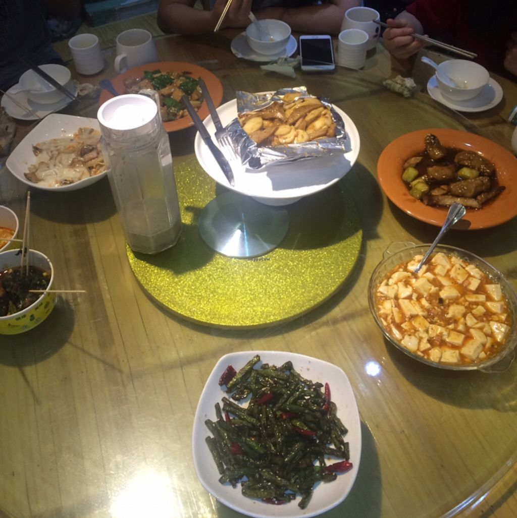 """Photo of Healthy Home  by <a href=""""/members/profile/Inoca"""">Inoca</a> <br/>We ordered so much foods with friends. Everything was all vegan and super delicious! Anything you order is sure to be a treat! <br/> May 22, 2016  - <a href='/contact/abuse/image/21510/150186'>Report</a>"""