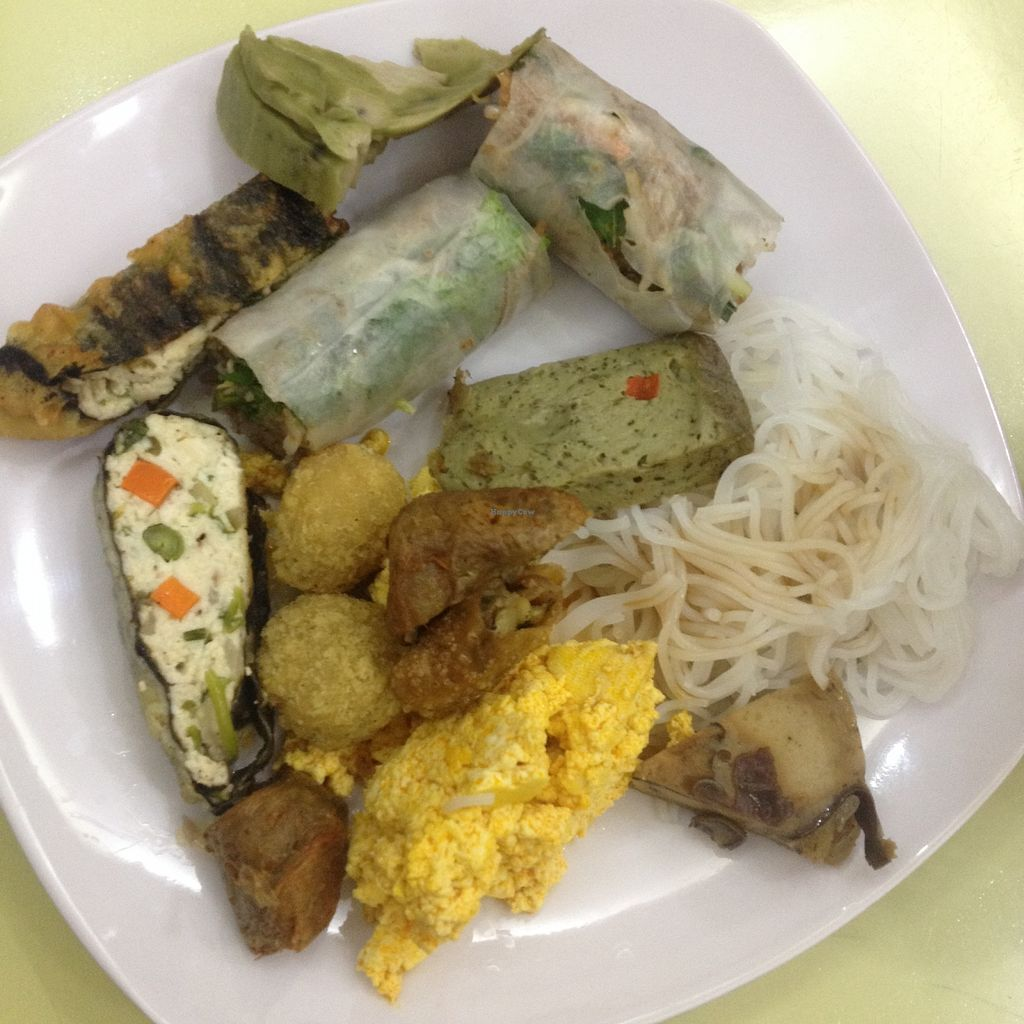 "Photo of Loving Hut - Tay Ho  by <a href=""/members/profile/VeganGecko"">VeganGecko</a> <br/>Seconds at the all vegan buffet :) <br/> June 24, 2017  - <a href='/contact/abuse/image/21552/272967'>Report</a>"