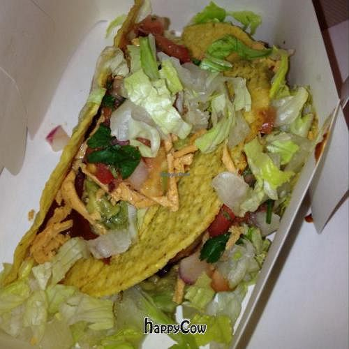 "Photo of CLOSED: Otarian  by <a href=""/members/profile/VeganYUMYUM"">VeganYUMYUM</a> <br/>tacos...they are just 'ok' <br/> December 15, 2012  - <a href='/contact/abuse/image/21560/41658'>Report</a>"