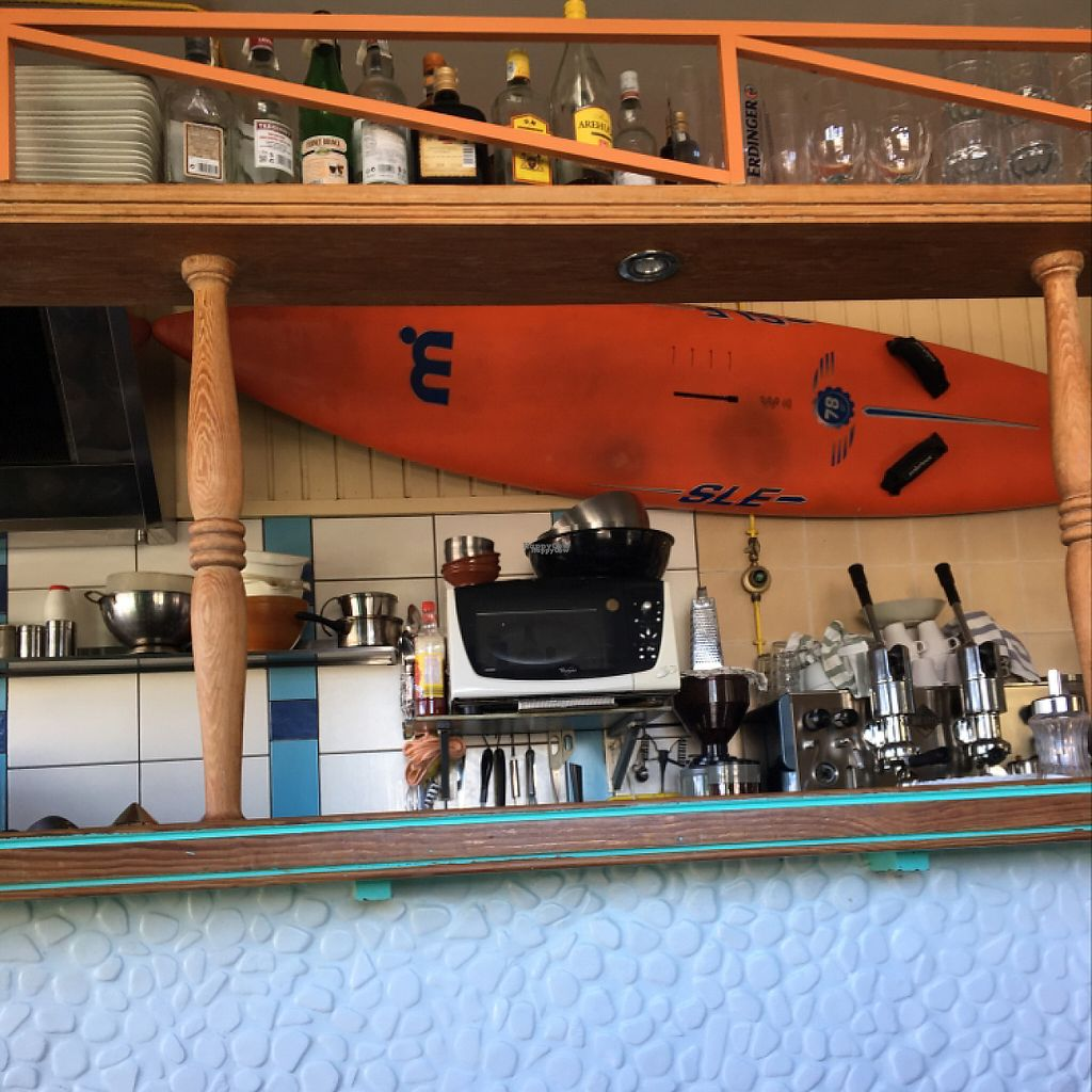 """Photo of Surf Corner Veggie Tapas Cafe  by <a href=""""/members/profile/ClareGillies"""">ClareGillies</a> <br/>the bar:) <br/> December 17, 2016  - <a href='/contact/abuse/image/21575/202203'>Report</a>"""