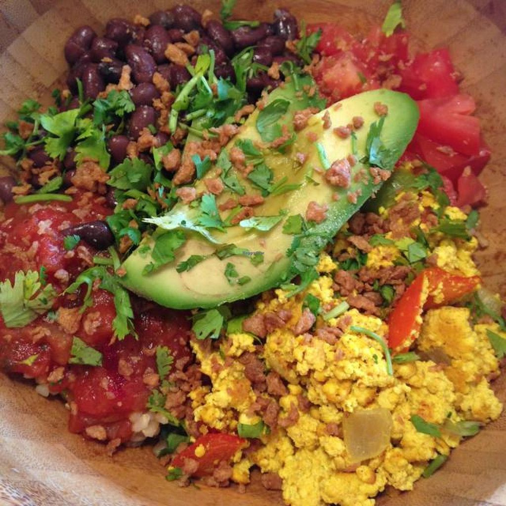 "Photo of Lettuce Love Cafe  by <a href=""/members/profile/Inkntofu"">Inkntofu</a> <br/>Huevos Rancheros Bowl!  <br/> August 9, 2014  - <a href='/contact/abuse/image/21598/76377'>Report</a>"