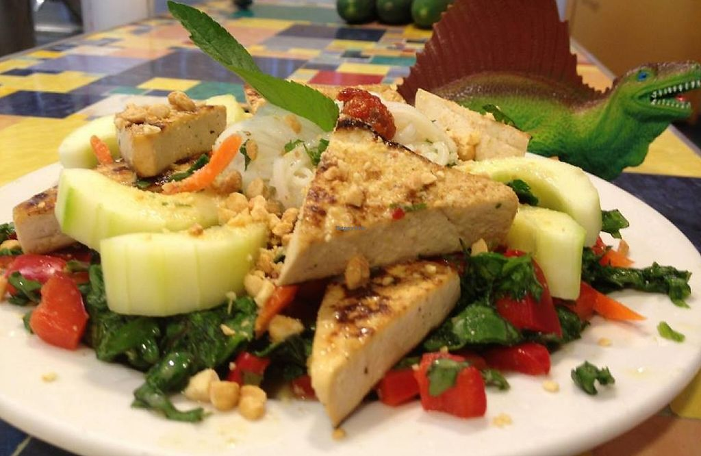 """Photo of Main Squeeze Natural Foods Cafe  by <a href=""""/members/profile/torykassabaum"""">torykassabaum</a> <br/>Salads galore at Main Squeeze! <br/> September 8, 2015  - <a href='/contact/abuse/image/2159/206982'>Report</a>"""