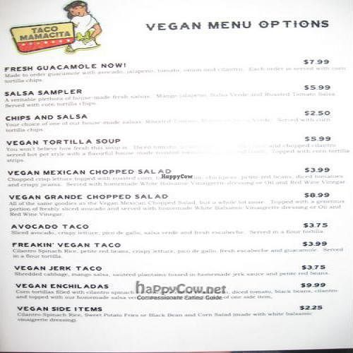 """Photo of Taco Mamacita  by <a href=""""/members/profile/batsnbikes"""">batsnbikes</a> <br/>Be sure to ask for their vegan menu! <br/> October 11, 2010  - <a href='/contact/abuse/image/21614/6057'>Report</a>"""