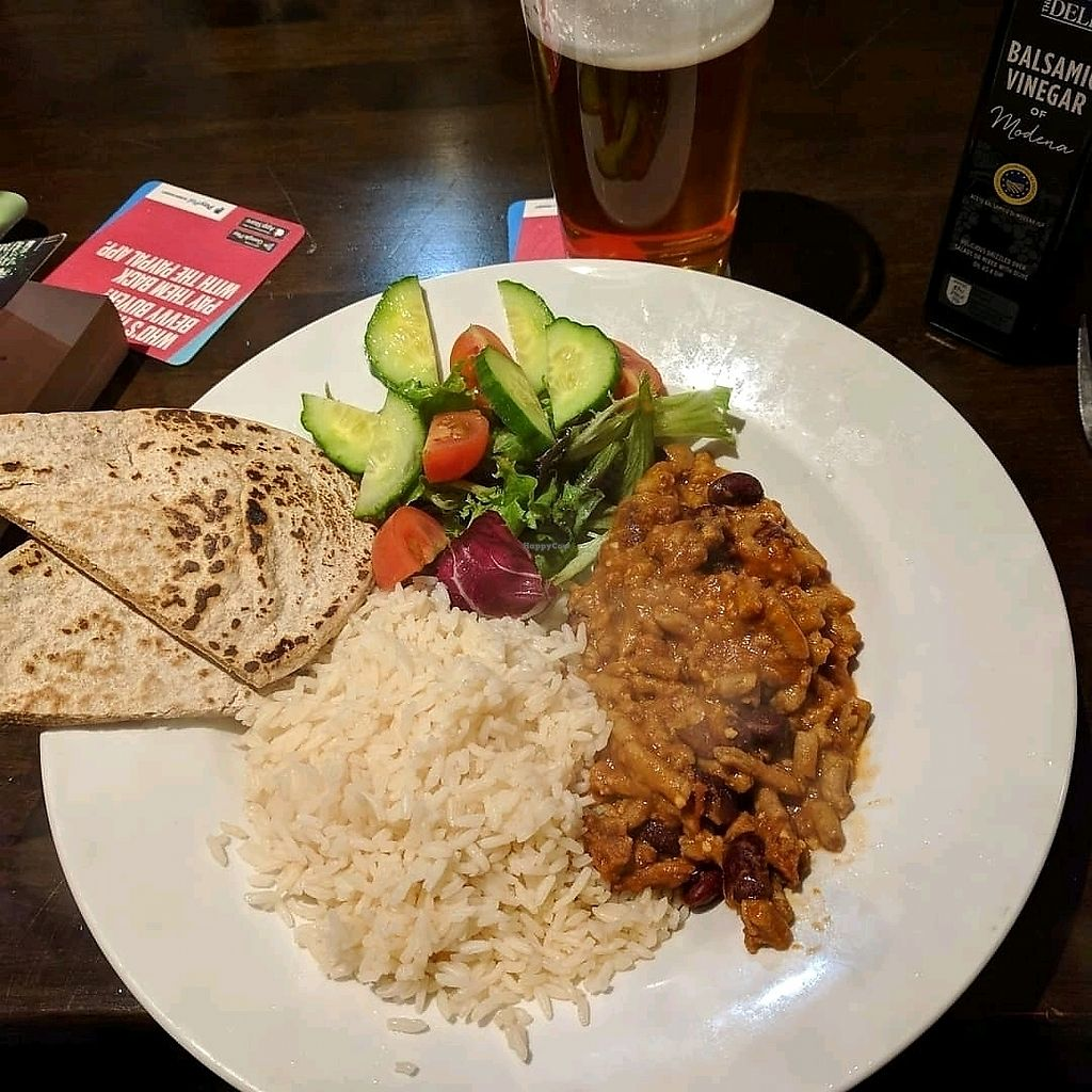 "Photo of Mod's Vegan Cafe at the Thirsty Scholar  by <a href=""/members/profile/Scarface_9toes"">Scarface_9toes</a> <br/>Martin's vegan Chili <br/> January 10, 2018  - <a href='/contact/abuse/image/21625/345032'>Report</a>"