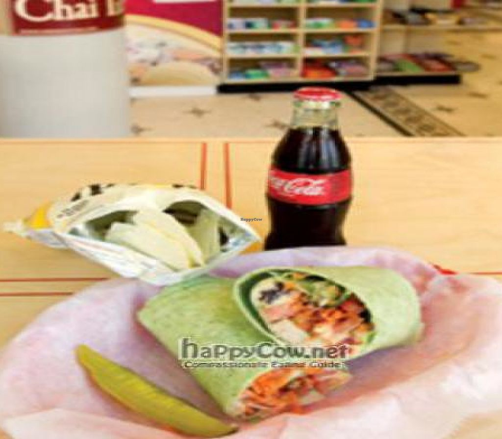 """Photo of 4square Gifts  by <a href=""""/members/profile/bevegan"""">bevegan</a> <br/>Wrap and Salad <br/> October 27, 2010  - <a href='/contact/abuse/image/21636/189789'>Report</a>"""