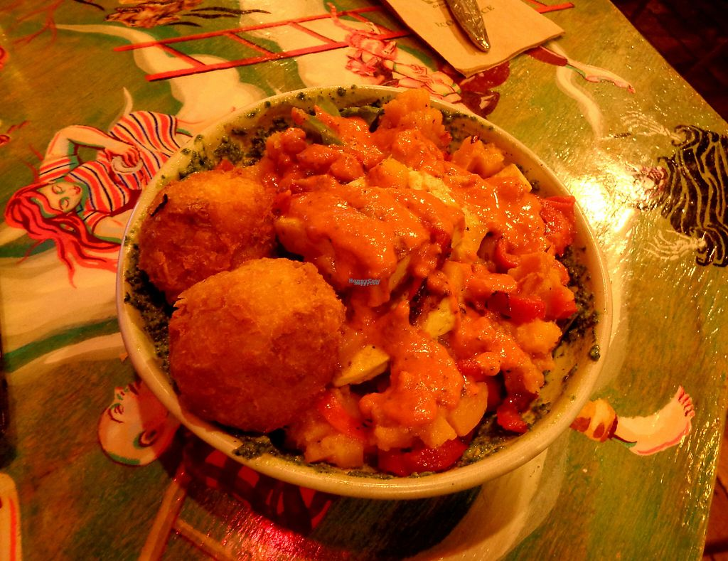 """Photo of Revel!  by <a href=""""/members/profile/citizenInsane"""">citizenInsane</a> <br/>Sauteed tofu, veggies and hash browns <br/> February 15, 2017  - <a href='/contact/abuse/image/21640/226781'>Report</a>"""