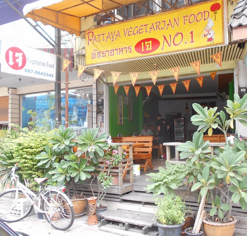 """Photo of Pattaya Vegetarian Food  by <a href=""""/members/profile/Kelly%20Kelly"""">Kelly Kelly</a> <br/>Pattaya Vegetarian Food new front as of May 2016  <br/> May 30, 2016  - <a href='/contact/abuse/image/21688/151397'>Report</a>"""