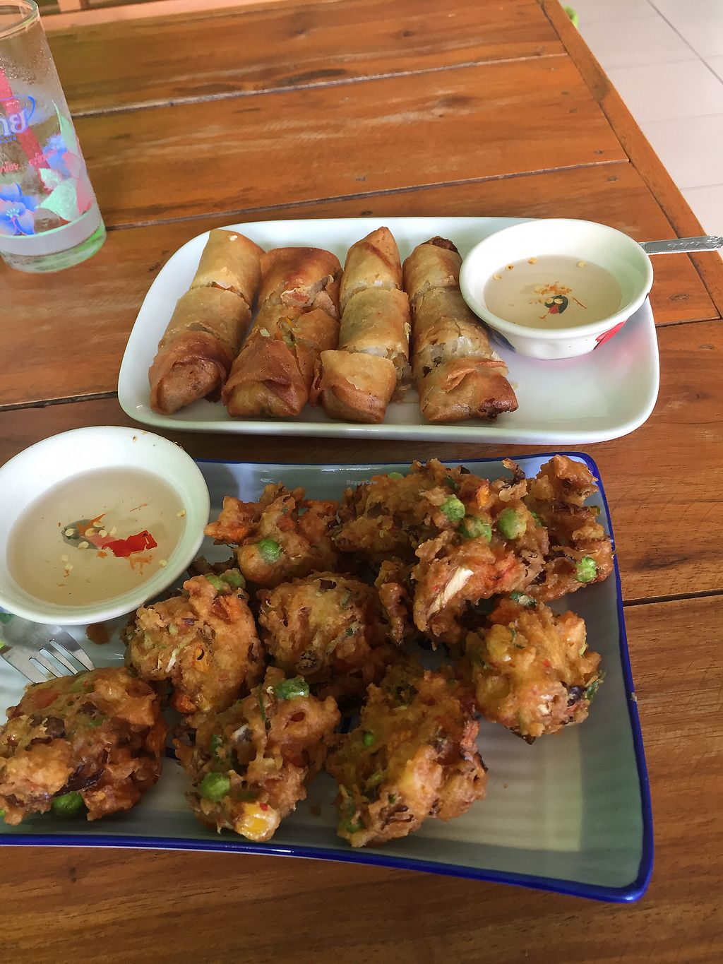 """Photo of Pattaya Vegetarian Food  by <a href=""""/members/profile/PaulBown"""">PaulBown</a> <br/>some  nice fried vegetables and spring rolls <br/> August 9, 2017  - <a href='/contact/abuse/image/21688/290736'>Report</a>"""