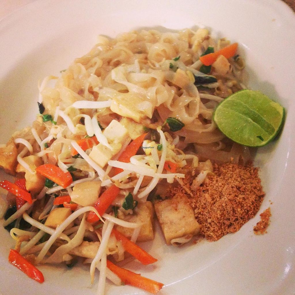 """Photo of Pattaya Vegetarian Food  by <a href=""""/members/profile/mortem1"""">mortem1</a> <br/>Pad Thai (2013) <br/> September 20, 2014  - <a href='/contact/abuse/image/21688/80520'>Report</a>"""