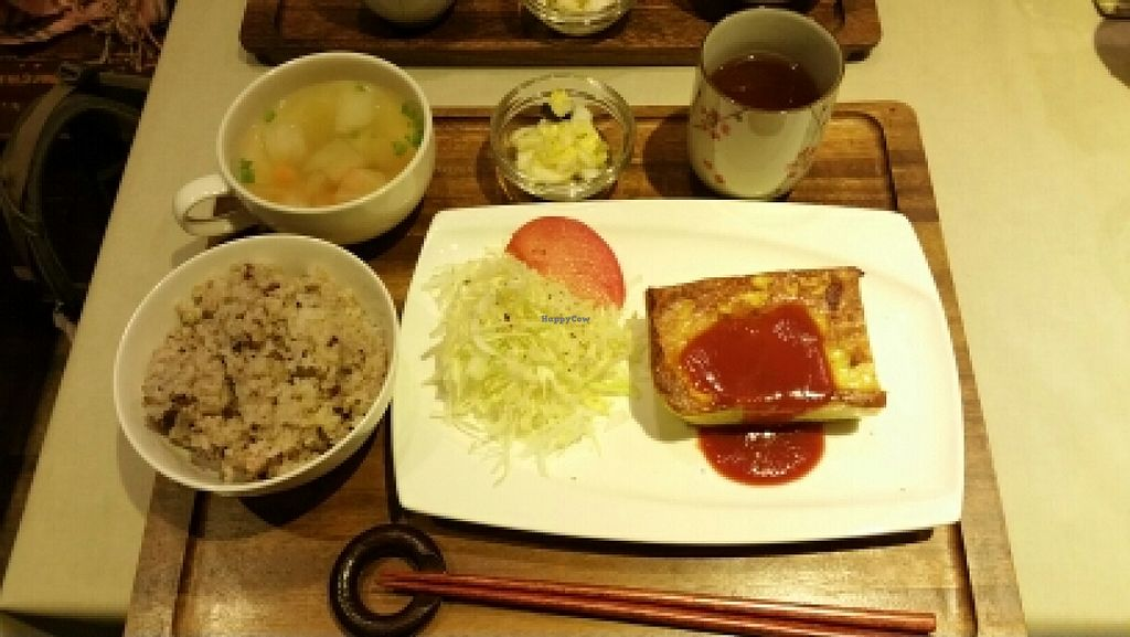 """Photo of Genmai Harmony  by <a href=""""/members/profile/Thaksa"""">Thaksa</a> <br/>Dinner set <br/> January 12, 2016  - <a href='/contact/abuse/image/21711/132160'>Report</a>"""