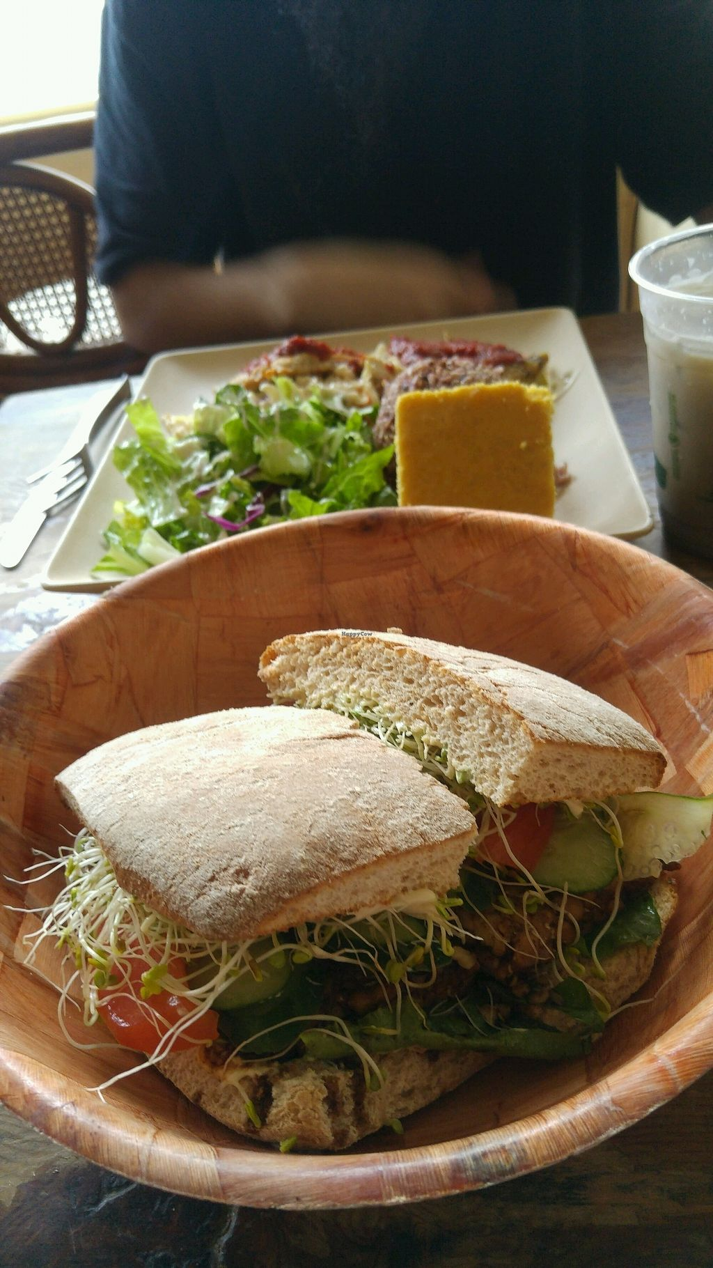 """Photo of Peace Cafe  by <a href=""""/members/profile/CamilaB"""">CamilaB</a> <br/>Tempting tempeh sandwich <br/> November 2, 2017  - <a href='/contact/abuse/image/21735/321044'>Report</a>"""