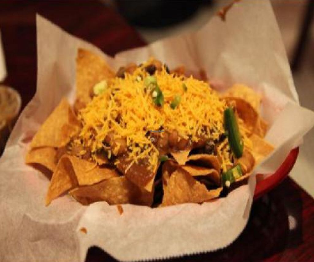 """Photo of CLOSED: The Addiction Bistro  by <a href=""""/members/profile/quarrygirl"""">quarrygirl</a> <br/>Chili vegan addiction nachos <br/> December 15, 2011  - <a href='/contact/abuse/image/21763/190454'>Report</a>"""