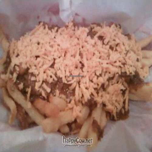 """Photo of CLOSED: The Addiction Bistro  by <a href=""""/members/profile/Sonja%20and%20Dirk"""">Sonja and Dirk</a> <br/>chili cheese fries <br/> April 17, 2011  - <a href='/contact/abuse/image/21763/8250'>Report</a>"""
