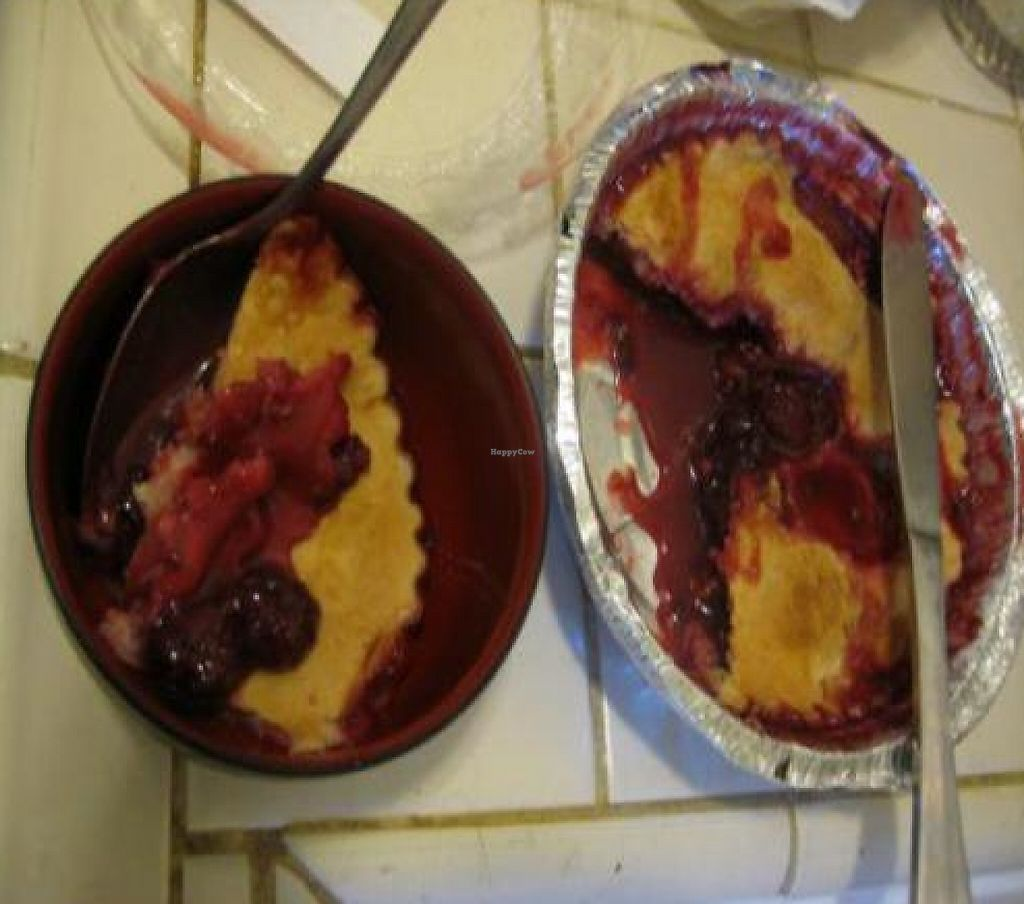 """Photo of Cobblermania  by <a href=""""/members/profile/quarrygirl"""">quarrygirl</a> <br/>Cobblermania vegan cobbler <br/> January 1, 2012  - <a href='/contact/abuse/image/21784/189373'>Report</a>"""