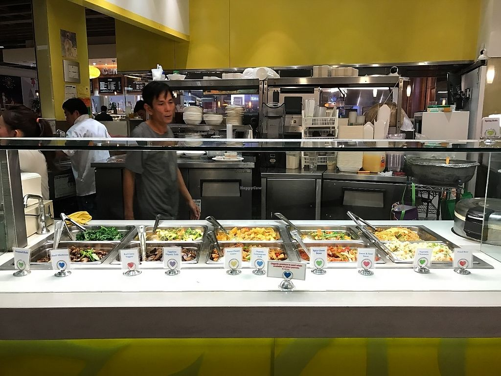 """Photo of Loving Hut - Westfield Mall Food Emporium  by <a href=""""/members/profile/Tigra220"""">Tigra220</a> <br/>buffet-style set up <br/> May 19, 2017  - <a href='/contact/abuse/image/21790/260123'>Report</a>"""