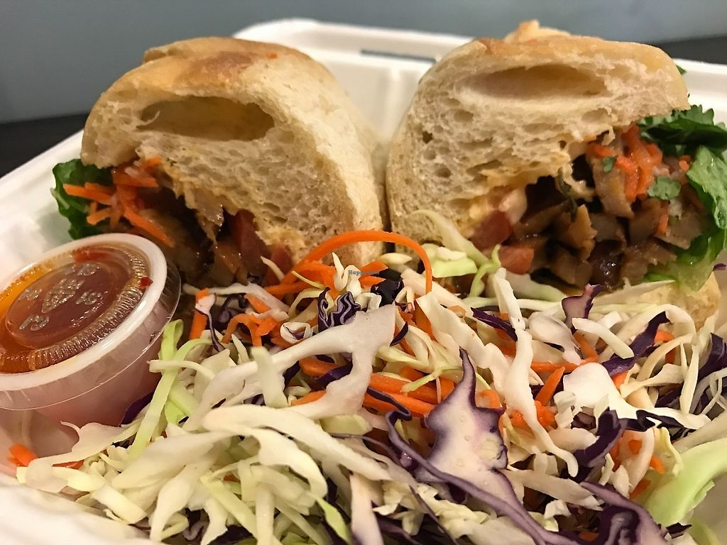 """Photo of Loving Hut - Westfield Mall Food Emporium  by <a href=""""/members/profile/Tigra220"""">Tigra220</a> <br/>Queen Sandwich <br/> May 19, 2017  - <a href='/contact/abuse/image/21790/260126'>Report</a>"""